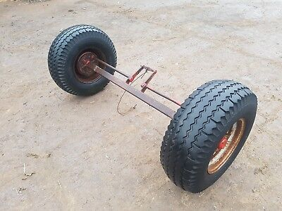muck spreader axle trailer wheels tyres