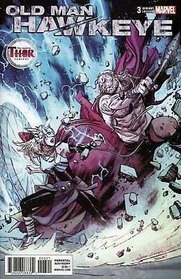 Old Man Hawkeye #3 Variant Olivier Coipel Mighty Thor Cover