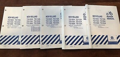 NEW HOLLAND TS100A TS115A TS125A TS135A Tractor Service Repair Manual on