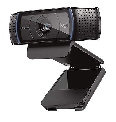 Logitech C920 HD Pro Webcam - Full HD 1080p Video Calling and Recording ...