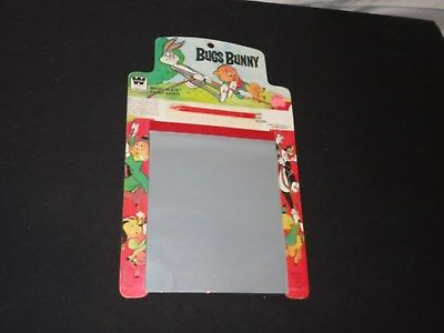1975 BUGS BUNNY MAGIC SLATE Looney Tunes Sylvester Porky Pig Elmer Fudd Unused