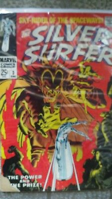 silver surfer 3 First appearance of Mephisto  low grade must have