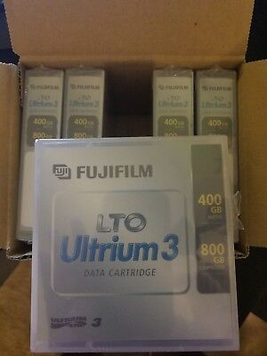 1 box of 5 - FujiFilm LTO 76044 Ultrium Data Cartridges 400GB/800GB - NEW +more