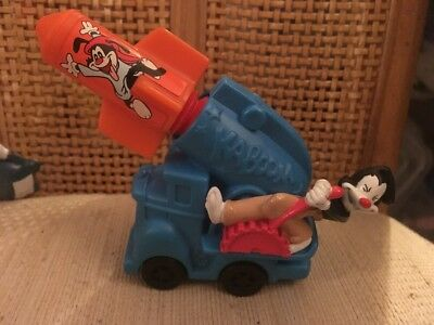 1994 Warner Bros. Animaniacs Kaboom Toy Car/Cannon HTF