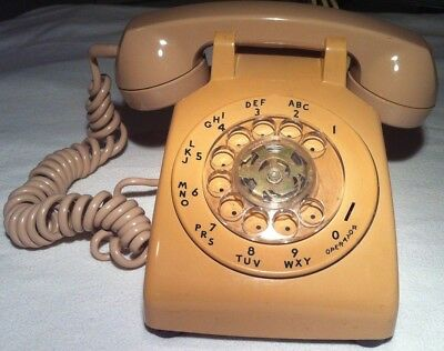 (1) Vintage Rotary Desk Telephone ~ITT Northern Telecom (TESTED, WORKS GREAT)