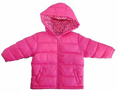 e9c9e5f85 WEATHERPROOF BABY GIRLS Size 18M Infant Fleece Jacket Pink Leopard ...