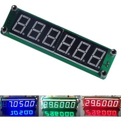 0.1 to 65 MHz RF 6 Digit Led Signal Frequency Counter Cymometer Tester meter