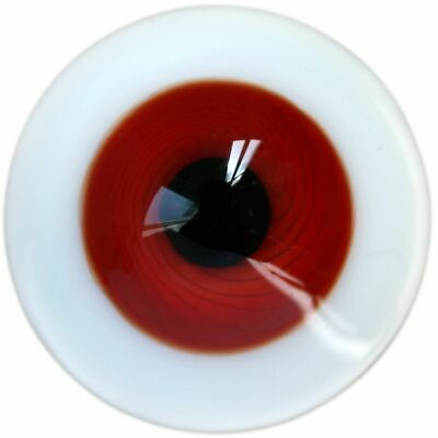 PF Ej29#14mm Burgundy And Wine Red For BJD Doll Dollfie Glass Eyes