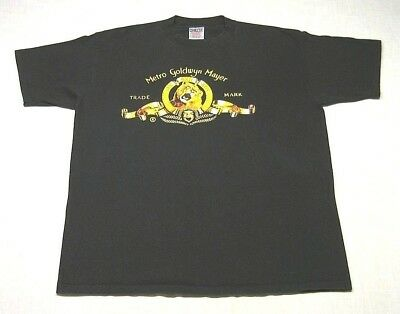 Vintage METRO GOLDWYN MAYER MGM Studio Promo T-Shirt (90s) LEO THE LION! XL