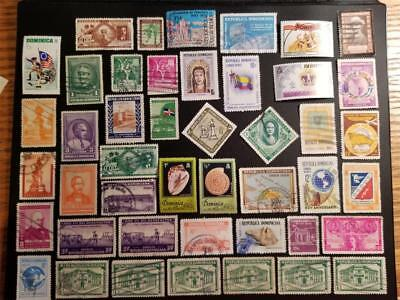 DOMINICA Stamps Nice Lot D763