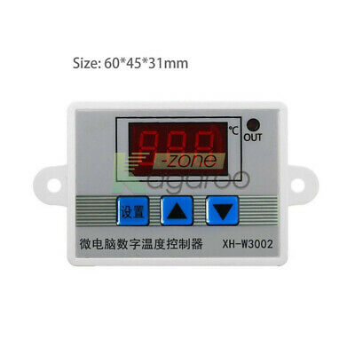 DC 12/24V AC 220V XH-W3002 Digital LED Temperature Microcomputer Thermostat