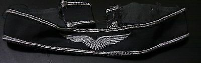 ✚2586✚ German post WW2 Bundeswehr Luftwaffe wings cuff title Armband EMBROIDERED