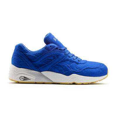 51df713bb87 Puma R698 Men s Bright Blue Fashion Sneakers 35883202 Trainers Felted Upper
