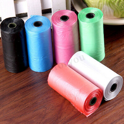 50 Rolls Portable Dog Pet Waste Poop Poo Refill Core Pick Clean 1000pcs Bags