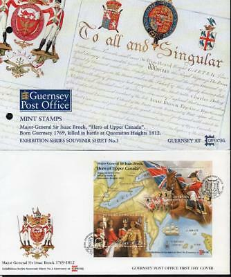 Guernsey MNH 1996 CAPEX 96, Presentation Pack & FDC