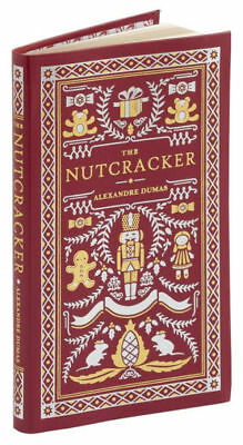 *New Leatherbound* THE NUTCRACKER (Pocket Size) by Alexandre Dumas (Illustrated)