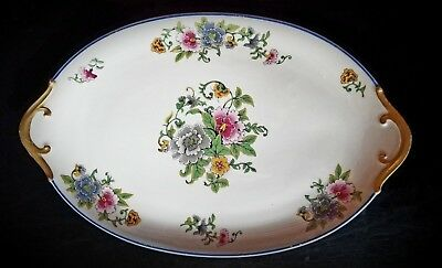 "CH Field Haviland Limoges French Ivory China 12"" Oval porcelain Platter plate"