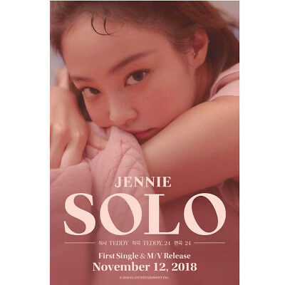 Jennie First Single Solo Album Sealed Blackpink Kpop Genuine