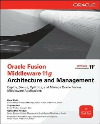 ORACLE FUSION MIDDLEWARE 11g: Tools and Applications Boot