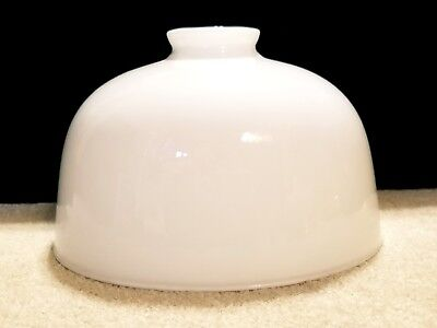 Vintage Blown Milk Glass Torchiere Floor or Table Lamp Shade Part