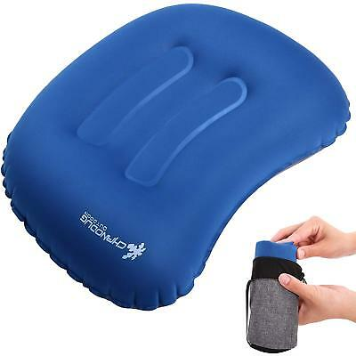 Inflatable Camping Pillow Ultralight Inflating Travel Pillow Compact Air Pillow