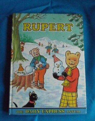 Rupert The Bear Annual, Dated 1974 ~ Decent Condition