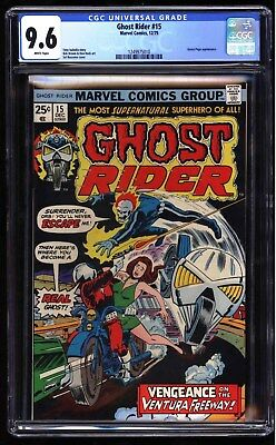 Ghost Rider CGC 9.6 White 2nd Highest Graded, Sweet Orb Cover Buscema Cover