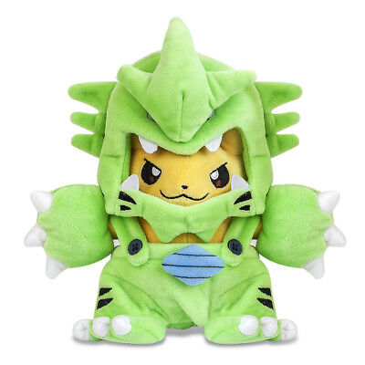 Pokemon Tyranitar Pikachu Plush Doll Figure Stuffed Animal Toy 10 inch Xmas Gift