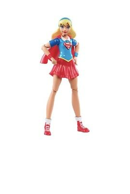 "DC Super Hero Girls Supergirl 6"" Action Figure Doll Plastic Girls Toy"