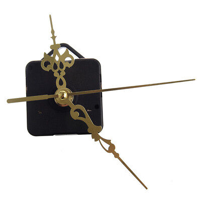 Quartz Clock Movement Mechanism Repair Parts Gold DIY