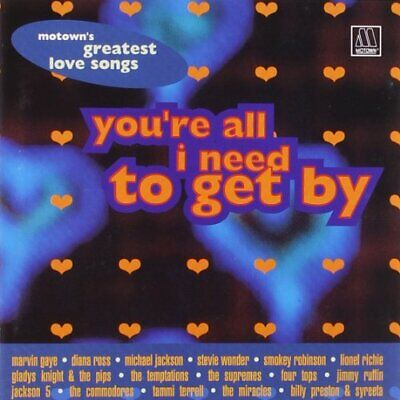 Various - Motown Greatest Love Songs - Various CD TNVG The Cheap Fast Free Post