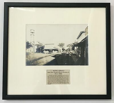 1898 Vintage Photograph Of Fort Street Honolulu Hawaii