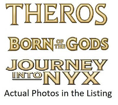 MTG Magic the Gathering Theros, Born of the Gods, Journey into Nyx Mix. C/U/R's