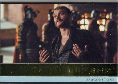 Game Of Thrones Season 4 Gold Stamped Parallel Base Card #52