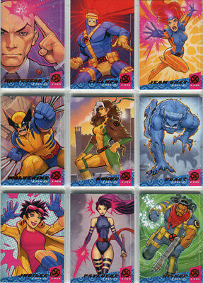 X-Men 2018 Fleer Ultra X-Men '92 Complete 10 Card Chase Set