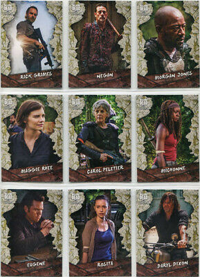 Walking Dead Season 8 Character Complete 25 Card Chase Set C-1 to C-25