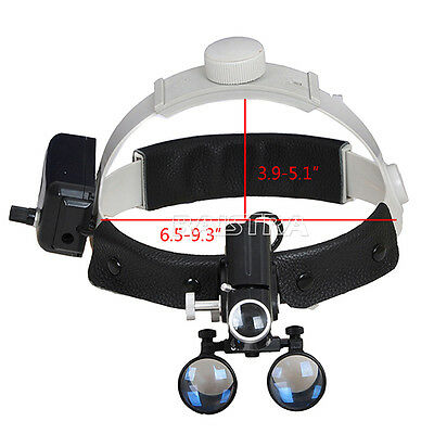 3.5X Dental Surgical Medical Headband Loupes with 5W LED Light DY-106