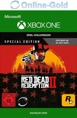 [Xbox One] Red Dead Redemption 2 Special Edition - Microsoft Xbox Digital Code