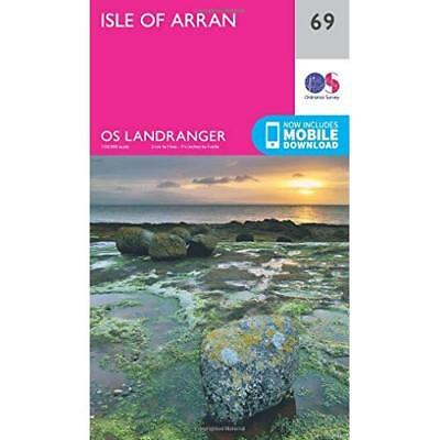 Landranger (69) Isle of Arran (OS Landranger Map) - Map NEW Ordnance Survey 2016
