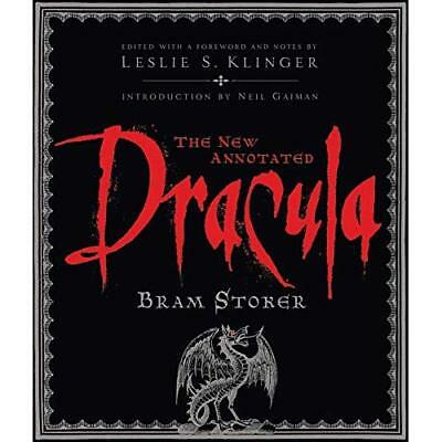 The New Annotated  Dracula  - Hardcover NEW Stoker, Bram 2009-01-02