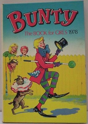 "1978 ""BUNTY"" Annual for Girls. Stories, cartoons, features. Very Tidy. Unclipped"