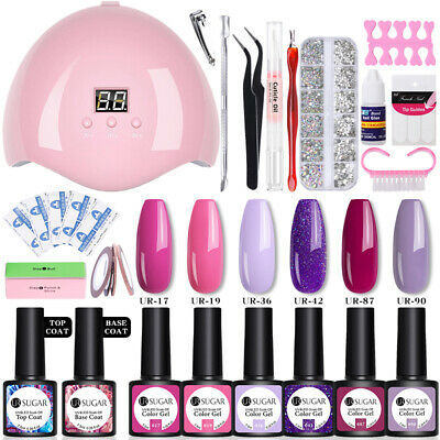 Nail Art Smalto Gel UV Semipermanente Kit Essiccatore per unghie Manicure Sets
