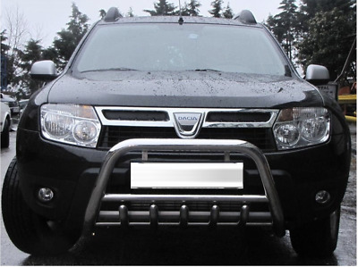 Pare Buffle Bullbar Protection Inox Pour Dacia Duster Optique Sportif