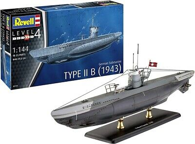 Revell 05155 - 1/144 German Submarine Type IIB (1943) - Neu