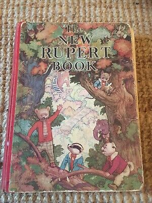 Vintage Rupert Annual Early Annual
