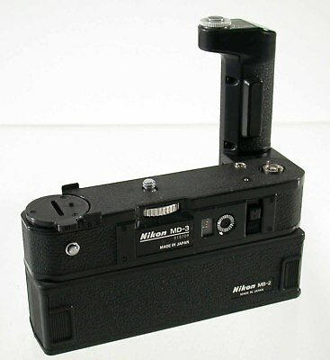 NIKON MD-3 MB-2 Motordrive F2 A AS SB Batterypack famous iconic professional /18