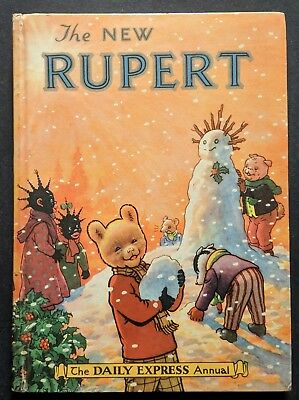 Rupert Annual 1954..original..not Inscribed Or Clipped...paint Contest Untouched