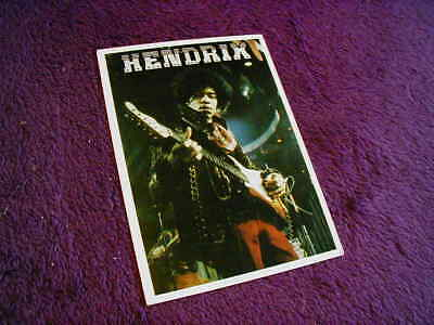 Jimi Hendrix (With Guitar) ,unposted Postcard
