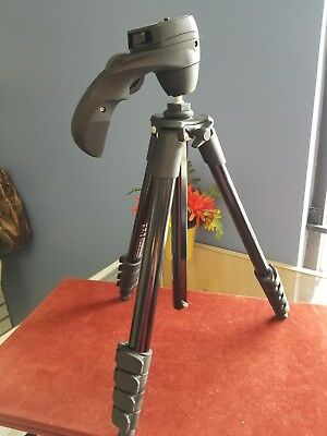 Manfrotto Compact Action Aluminium Tripod with Hybrid Head (MKCOMPACTACN-BK) - B