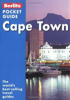 Cape Town Berlitz Pocket Guide (Berlitz Pocket Guides) Paperback Book The Cheap
